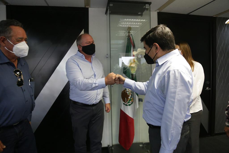Meeting with Sinaloa Officials